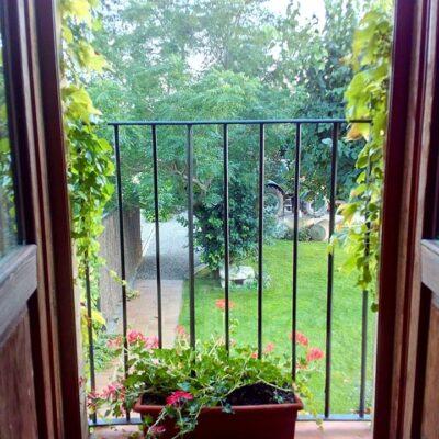 balcó casa rural era de cal falillo