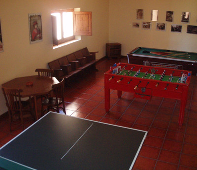 sala de jocs casa rural