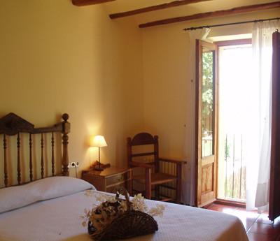 habitació balcó casa rural