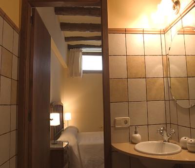 bany habitació doble casa rural